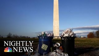 National Parks Overwhelmed With Trash Amid Government Shutdown | NBC Nightly News