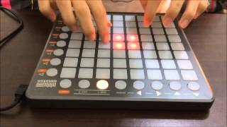 Repeat youtube video Meg & dia - Monster DotEXE remix ( Launchpad Performance )