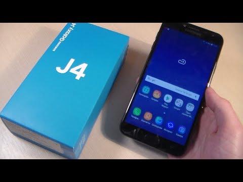 Обзор Samsung Galaxy J4 2018 (J400F)
