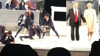 'President Trump' Gets Stabbed To Death In Modern Day Version Of 'Julius Caesar' thumbnail