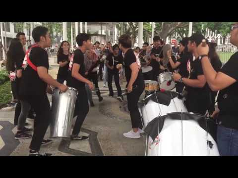 Busking at National Gallery Singapore   Beats Encore