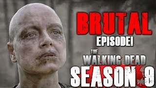 The Walking Dead Season 9 Episode 15 - The Calm Before - Video Review!