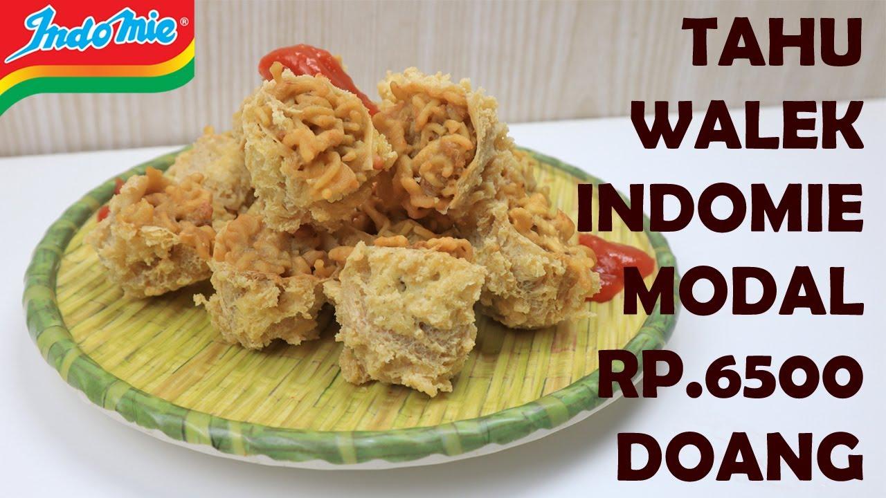 Cara Membuat Jajanan Tahu Walek Walik Indomie Kriuknya Nampol Youtube Resep Makanan Makanan Cemilan