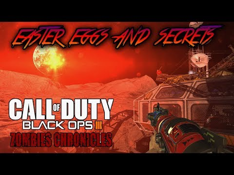 MOON - ALL EASTER EGGS AND SECRETS WALKTHROUGH (Black Ops 3 Zombies Chronicles)