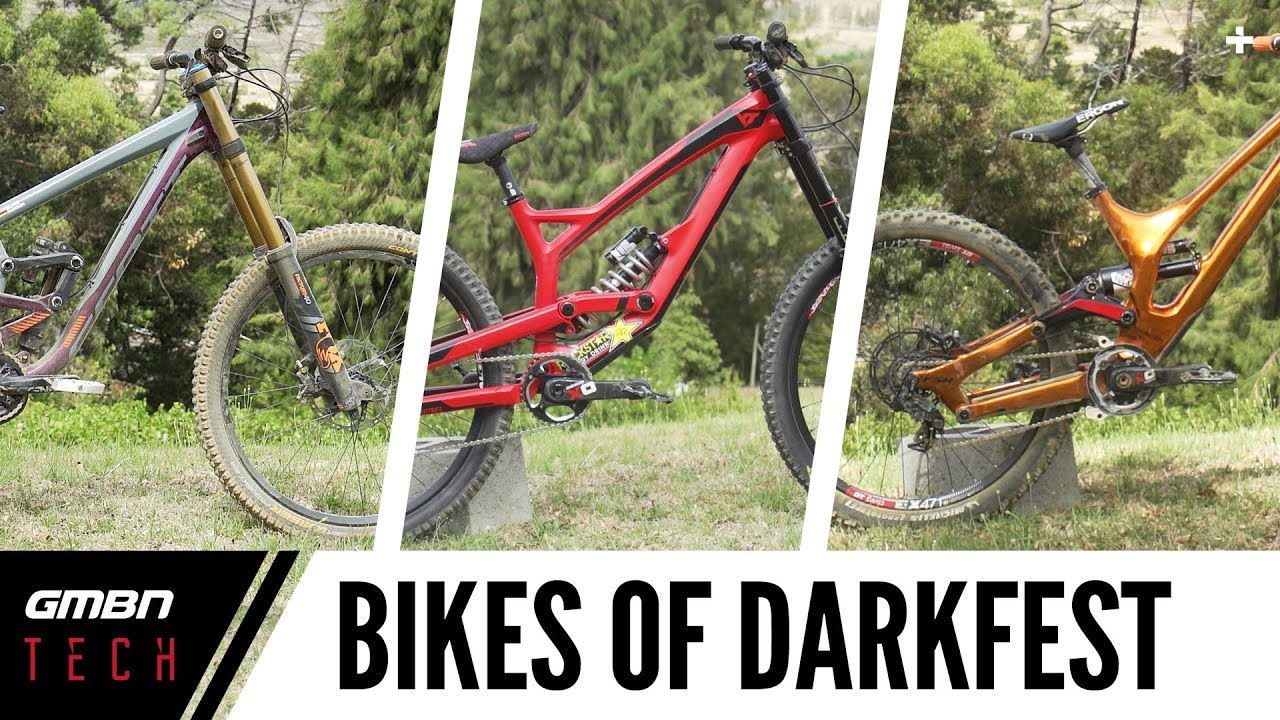 6e9b53f2728 Bikes Of DarkFEST 2018: Pro Freeride Bikes - YouTube