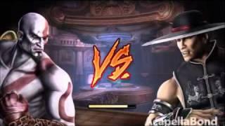 Repeat youtube video Mortal Kombat 9 - Arcade Ladder - Kratos 1/2