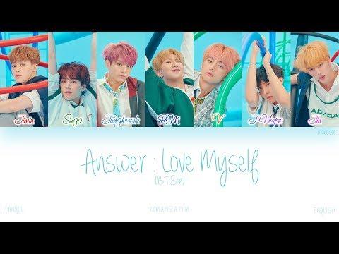 [HAN ROM ENG] BTS (방탄소년단) - Answer : Love Myself (Color Coded Lyrics)