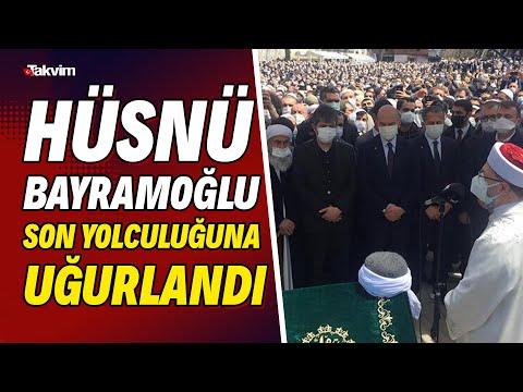 Bediüzzaman Said Nursi'nin talebelerinden Hüsnü Bayramoğlu son yolculuğuna uğurl