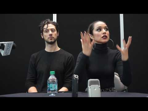 Hale Appleman and Summer Bishil for The Magicians at NYCC 2016