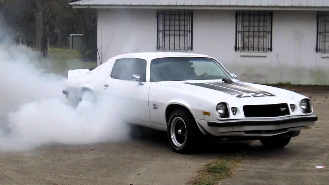1974 Camaro Z28 Burnout Youtube