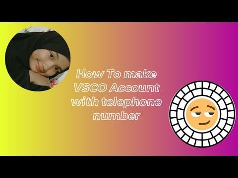How to make VSCO account by Mira Arlina