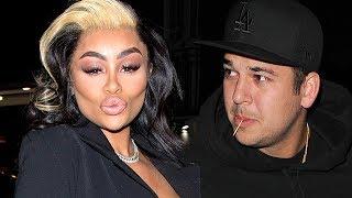 Blac Chyna BLASTS Rob Kardashian For Not Providing Luxury Lifestyle For Baby Dream!