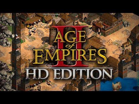 AGE OF EMPIRES 2 HD Edition - ITALIANOS + ESLAVOS   BATALLANDO ONLINE #13