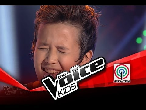 The Voice Kids Philippines Blind Audition Grow Old With You  Juan Karlos