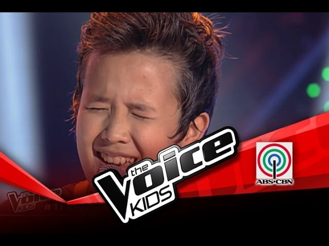 The Voice Kids Philippines Blind Audition Grow Old With You by Juan Karlos