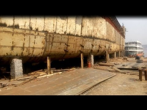 Ship Construction Part 1|| Ship construction and repair || Shipbuilding industry documentary