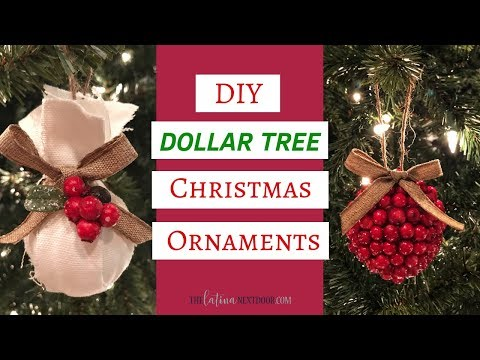 DIY Dollar Tree Christmas Ornaments 2018 - Dollar Tree Christmas Decor