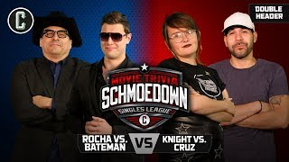 John Rocha VS Ben Bateman & Rosie Knight VS Matt Cruz - Movie Trivia Schmoedown
