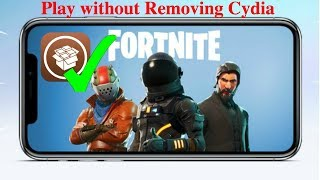 Fortnite Mobile - How To Bypass Fortnite Jailbreak Detection Without Removing Cydia! (Tutorial)