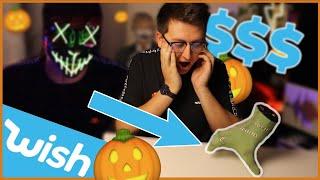 Jocīgi produkti no Wish! 🎃 Halloween epizode!  (EP13)