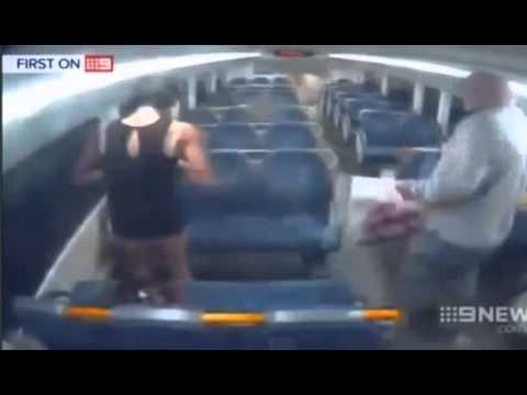 Man Shakes Woman's Hand Then KO's Her!