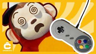 Грати потайки в ігри по ночах! Cocomong увійшов в гру! | Т-Рекс | Cocomong каракулі іграшка для дітей