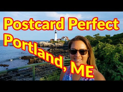 Full Time RV Living | Freeport ME Shopping, Portland ME Brews and Lighthouses | S2 EP101