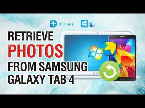 Recover Deleted Photos from Samsung Galaxy Tab 4