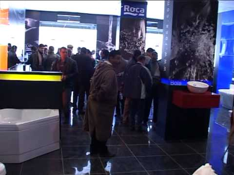 Ouverture showroom roca gravena a setif algerie youtube for Roca showroom