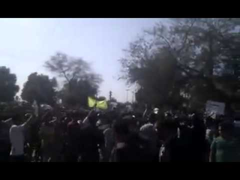 Iran: Anti  government demonstrationin Dezful