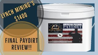 Video-Search for lynch paydirt bucket