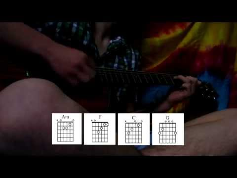 I Wouldn't Mind by He Is We (Guitar Cover) Chords on screen!