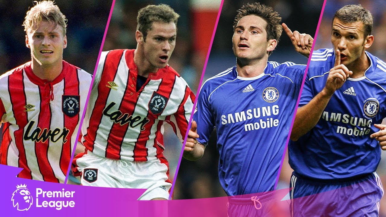 Sheffield United vs Chelsea | Classic Premier League Goals | Flo, Lampard, Hodges