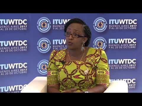 ITU INTERVIEWS @ WTDC-17: Justina Mashiba, Universal Communications Service Access Fund, Tanzania