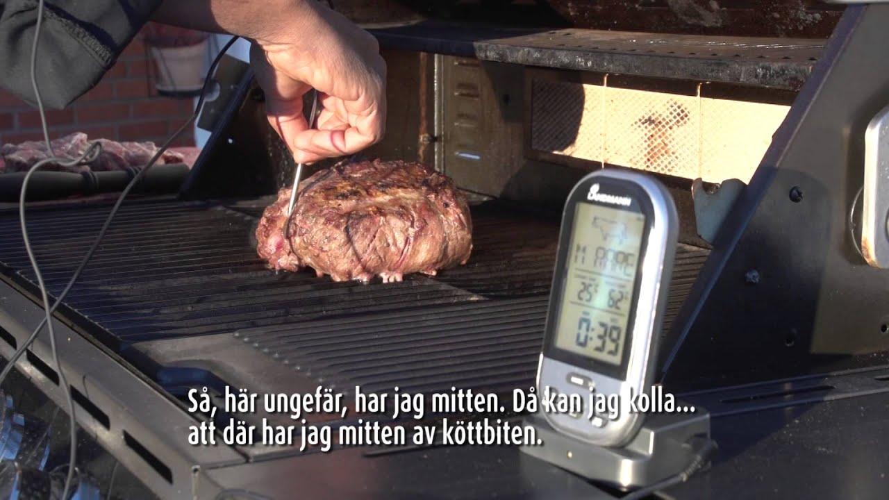 Landmann Holzkohlegrill Manual : Landmann trådlös grill termometer youtube
