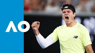 Stefanos Tsitsipas vs Milos Raonic - Match Highlights (R3)   Australian Open 2020