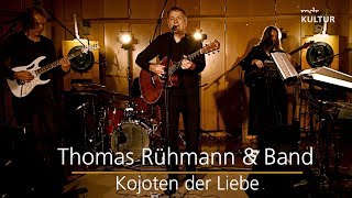 Thomas Rühmann in der Studiosession
