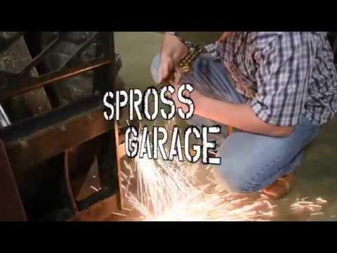 Spross Garage - CNC Plasma Table Homemade Downdraft ...