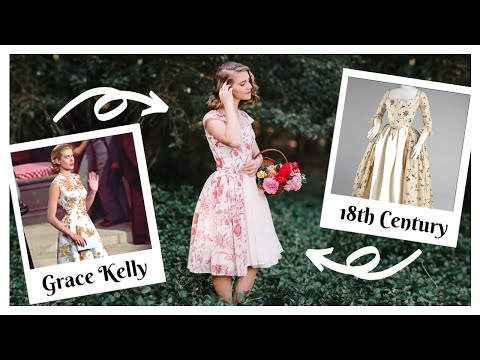Grace Kelly Meets 18th Century – Dress In A Day Challenge
