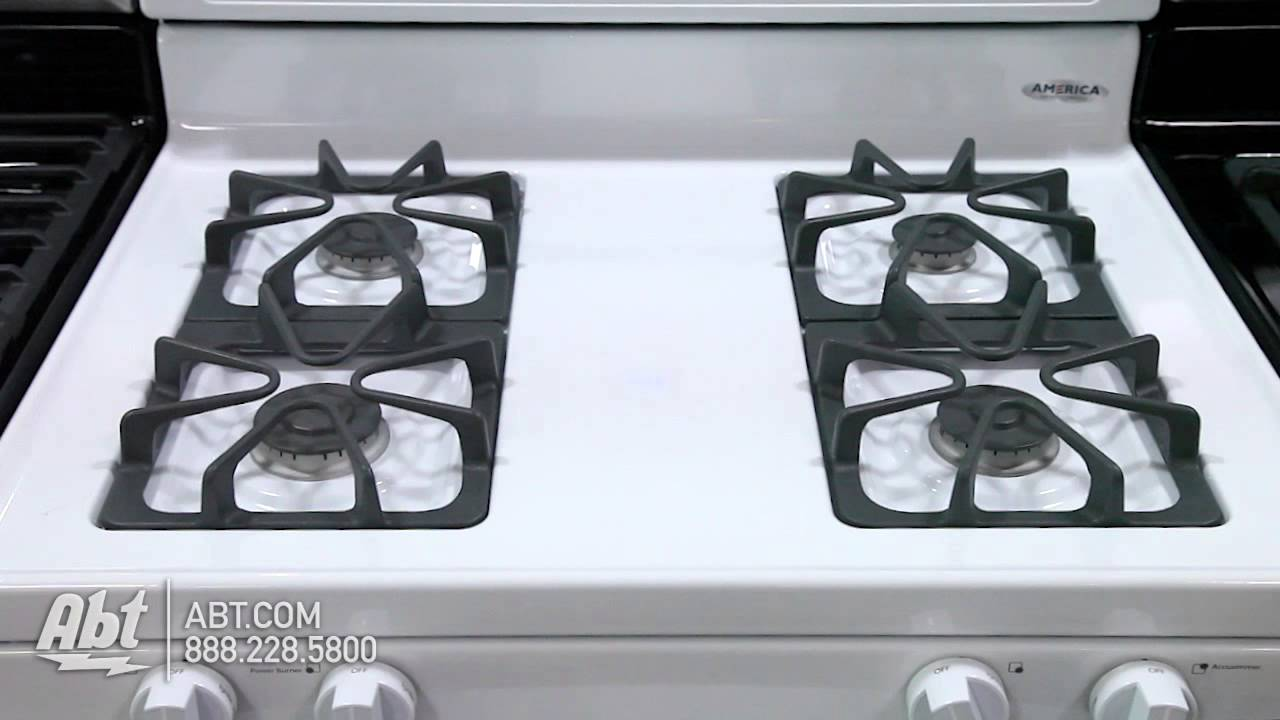 Whirlpool Freestanding Gas Range WFGS Overview YouTube - Abt gas ranges