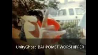 UnityGhost TROWS UP BAHPOMET INFRONT OF CLEVELAND ISRAELITES