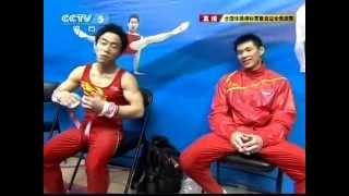 邹凯 ZOU Kai Gold Medal On High Bar At China Nationals & Olympics Trials 2012