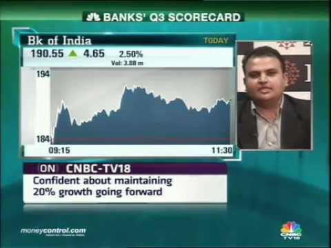 Rajiv Mehta bullish on Bank of India