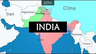 India - summary of history since 1900