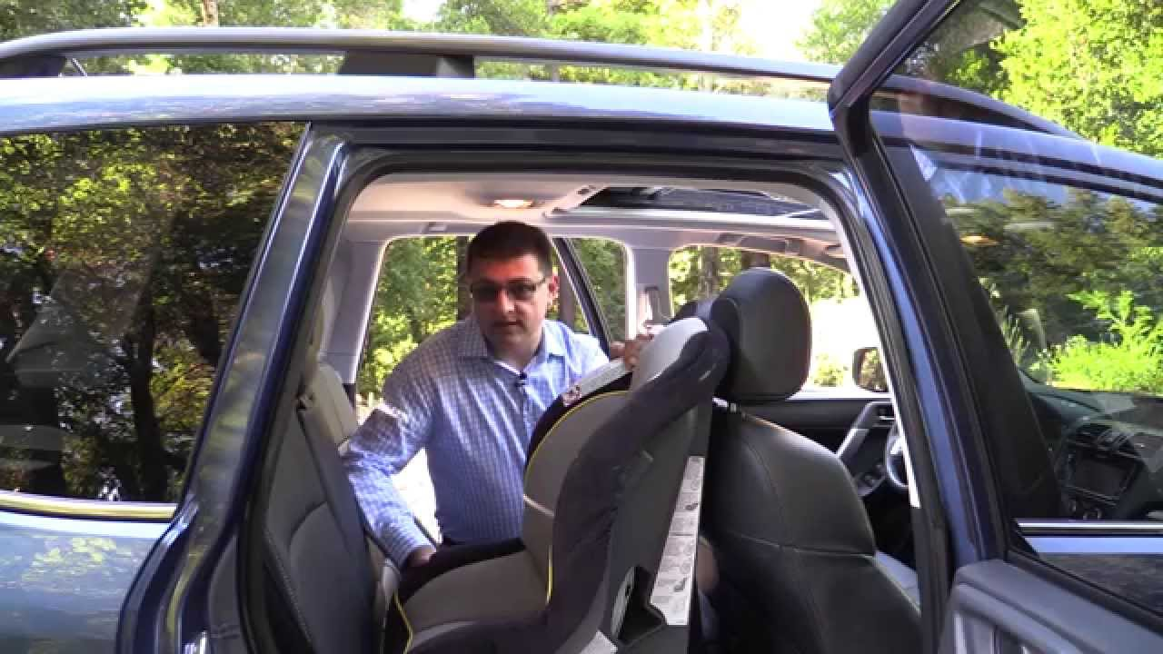 2014 / 2015 Subaru Forester Child Seat Review - YouTube