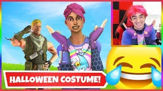I Dressed Up As A Fortnite Character... (Funny Random Duos)