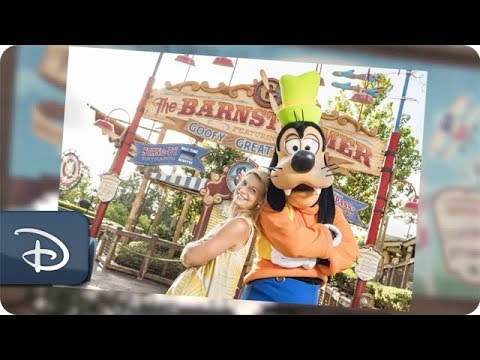 Actress Claire Danes Visits Her Favorite Disney Dog, Goofy at Walt Disney World