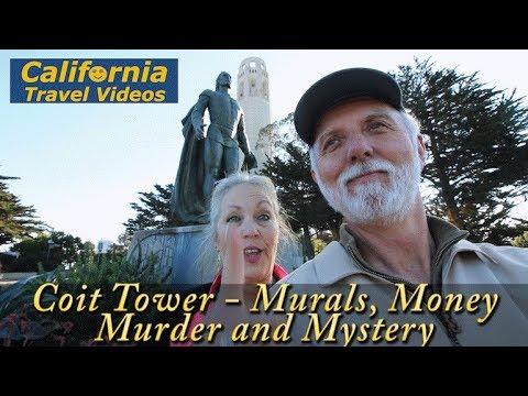cTv Coit Tower Suspense, San Francisco Views, Murals, Money & Mystery