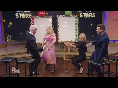 Madonna Dances with Anderson Cooper