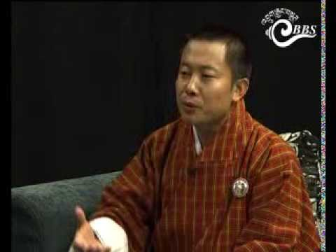 Dawai Kudroen with Pema Wangchuk, Offtg. Executive Director, Loden Foundation